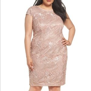 Sequin Lace Cocktail Dress